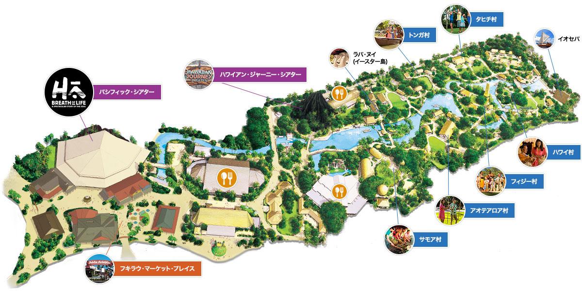 PCC園内マップ