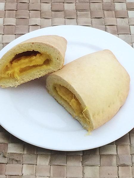 サモアのハーフムーンパイ